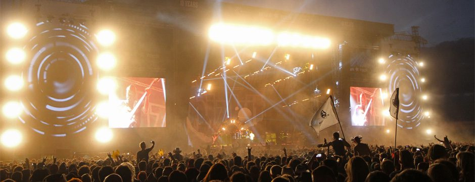 firstSpot Videowände und Live Video Produktion beim Nova Rock 2014 | LED HD Indoor und outddor SMD Wall Videowall Wand Screen mieten und kaufen bei firstSpot, Wien, Österreich. http://www.firstspot.at