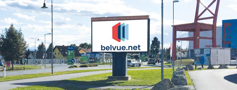 Videowall Werbung auf Videowall Leibnitz Steiermark buchen. DOOH Werbung in Oberösterreich, Niederösterreich, Wien, Steiermark und Burgenland buchen bei belvue.net