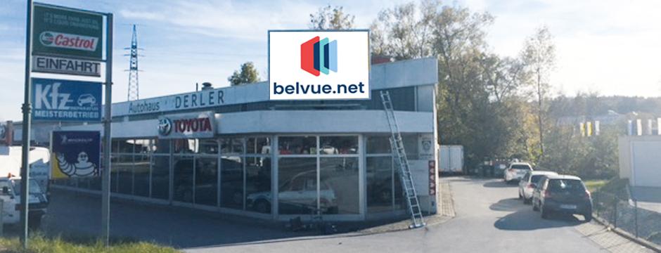 Videowall Werbung Weiz, Steiermark