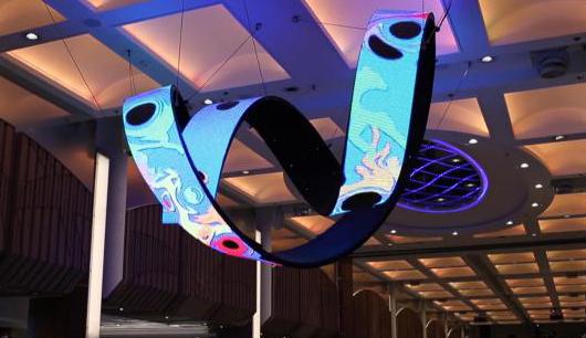 Organische LED Sonderformen Kreis, Zylinder, Kubus, Band, Bänder