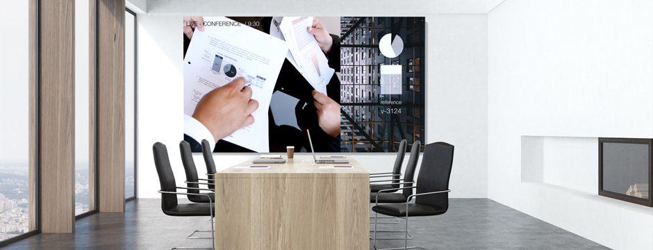 Videowall Videoscreen Display Konferenzraum Konferenz Meetingraum Besprechungraum kaufen firstSpot Wien, Niederösterreich, Österreich