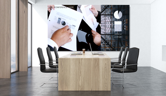 Videowand Großbildschirm Bildschirm Konferenzraum Meetingraum Besprechungsraum kaufen in Wien, Österreich