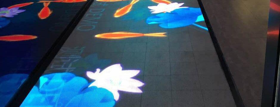LED Boden Dancefloor Bildschirm im Boden Display floor video begehbar und befahrbar kaufen in Wien, Österreich bei firstSpot media Gmbh