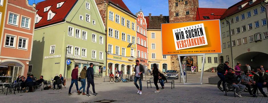 LED Wall Outdoor. Digitale, elektronische Werbetafel kaufen in Österreich bei firstSpot. www.firstspot.eu