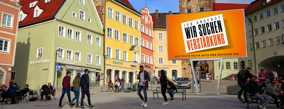 LED Wall Outdoor / LED Screen Outdoor kaufen in Österreich bei firstSpot. www.firstspot.eu